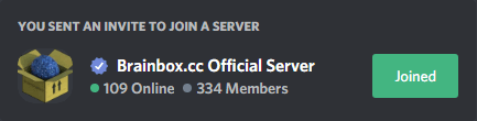 Brainbox.cc Official Server